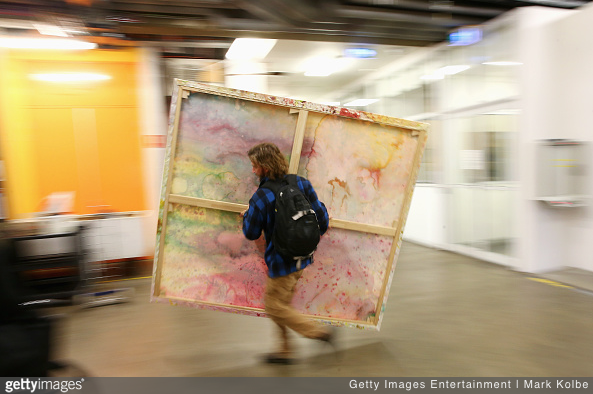 Fine art packing and moving