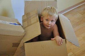 Make moving with children a pleasant experience