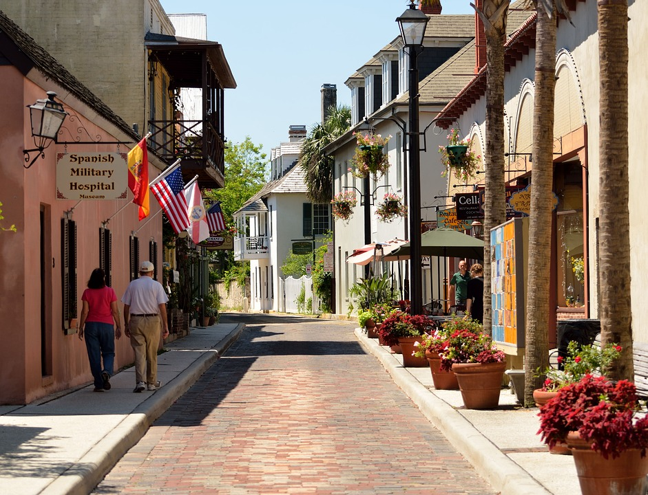 Also visit Aviles Street - the oldest street in USA