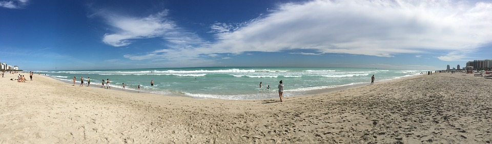 Beaches are common in Florida
