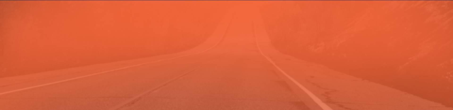 Orange Movers Orange Road Background Image