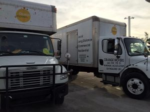 Our moving trucks are like our moving services Florida - reliable and top of the line!
