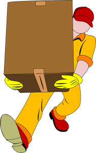 Think about the local moving costs of full-service movers carrying boxes.