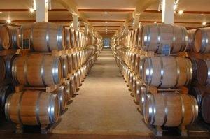 barrels in a storage unit