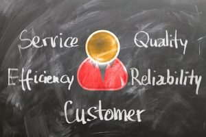 Quality customer service, efficiency, reliability