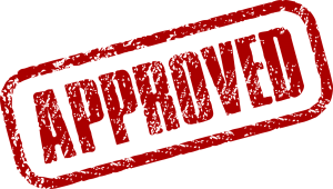 Approved sign - reputable and cheap movers in South Florida need to be approved.