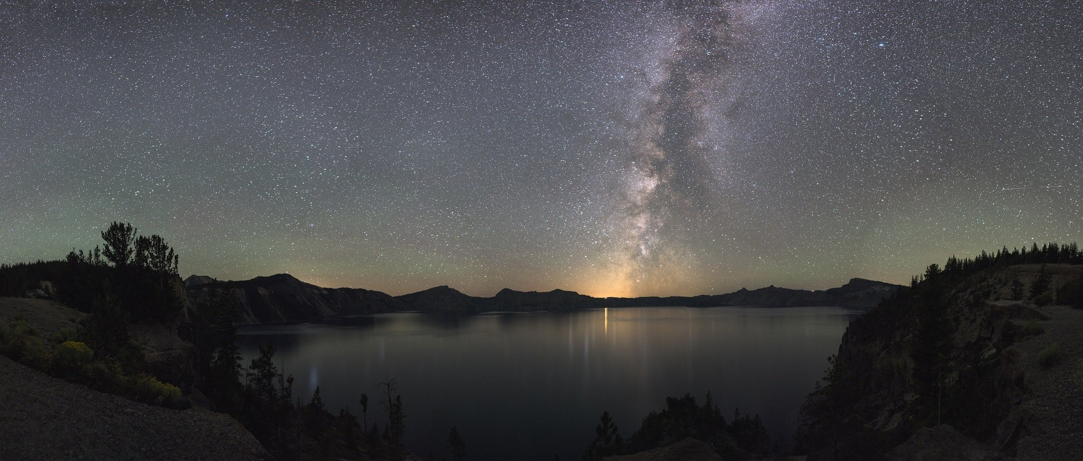 Crater Lake National Park - one of the sites to explore after moving to Oregon.