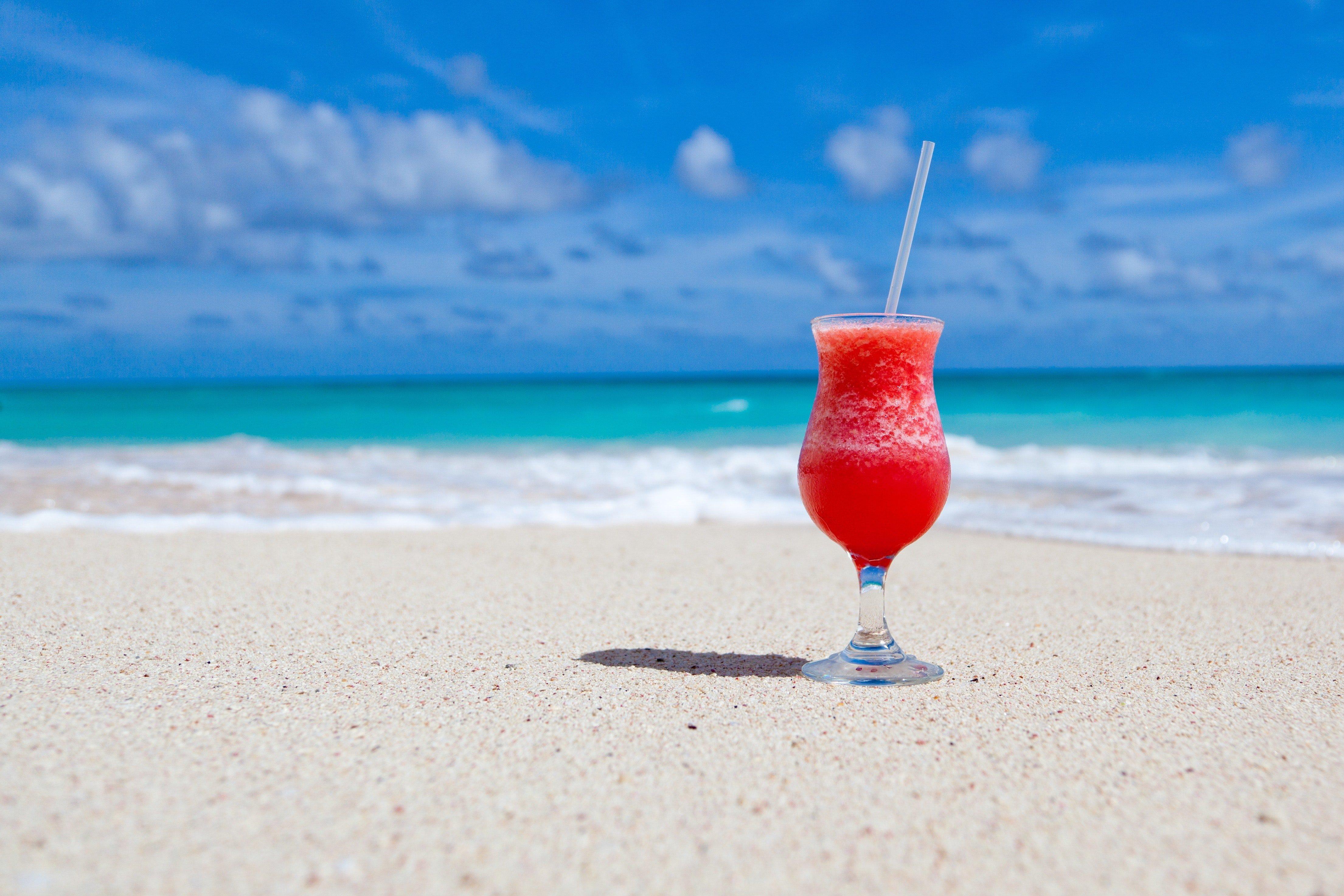 A beach, like in Florida