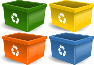 Plastic bins our Pembroke Pines movers use.