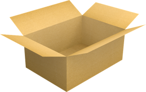 Box for packing