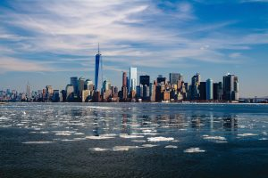 New York skyline - a sight to behold after moving from Miami to New York.