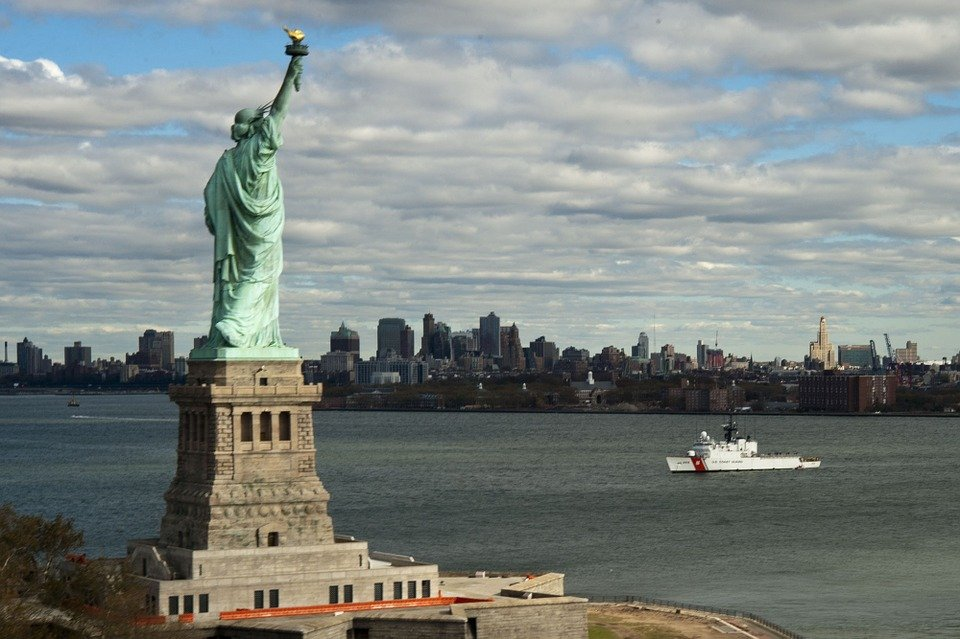 Move to New York fro Miami and see the Statue of Liberty.