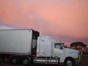 Homestead movers truck