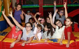 Children at the party