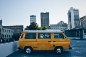Sometimes, a small yellow Volkswagen van is enough if you don't have that much to move.