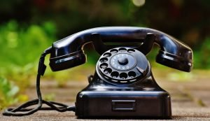 A phone - to call the references, and ask important questions for movers.