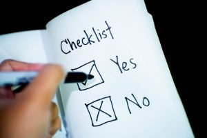 A checklist - make one for you move in 3 days.