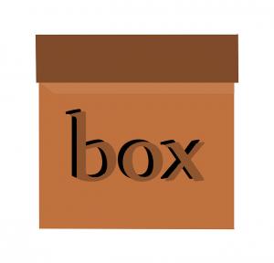 """""""Open-first"""" box."""