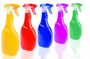 Cleaning supplies for your home.