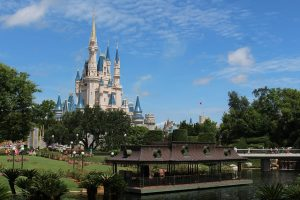 Disney World castle.