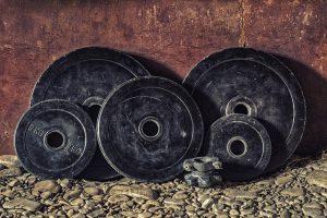 Black weights.