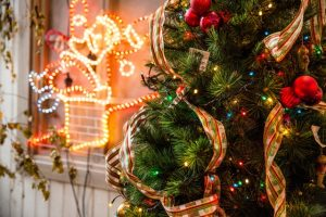 Get rid of Christmas clutter, such as tree and ornaments