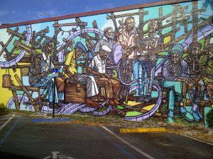 Calle Ocho wall artwork