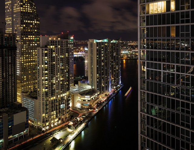 This amazing view is just a hint of all fun things to do in Miami at night