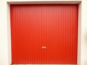 A garage door, if you want to protect your home from burglary you should get a automatic garage door