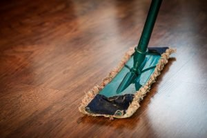 A mop for household spring cleaning