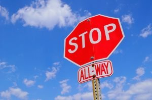 Florida parking rules - traffic sign stop