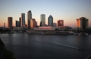skyline view of Tampa