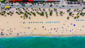 City beach is one of many romantic places in Fort Lauderdale
