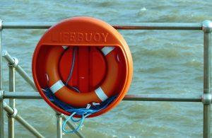A lifebuoy