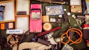 Organize a yard sale and sell your excess items