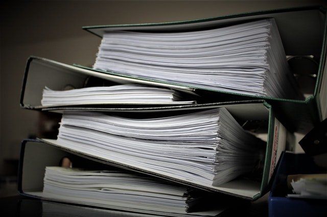 Extensive paperwork is required for moving your business long distance