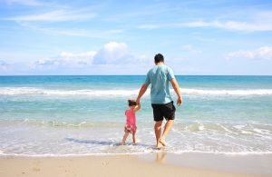 finding ideal family home in Florida and a stroll on the beach