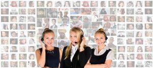 Women of customer service
