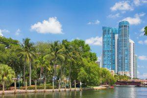 beautiful landscape of Fort Lauderdale