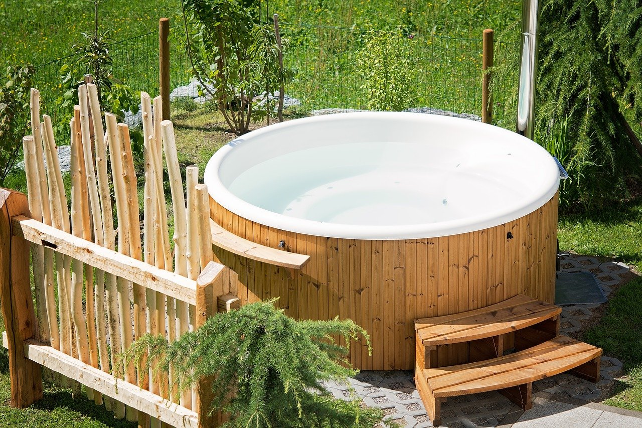 move a hot tub safely